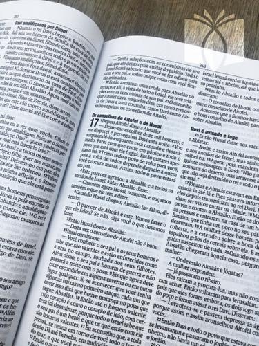 bíblia lettering jesus copy oficial capa dura naa original