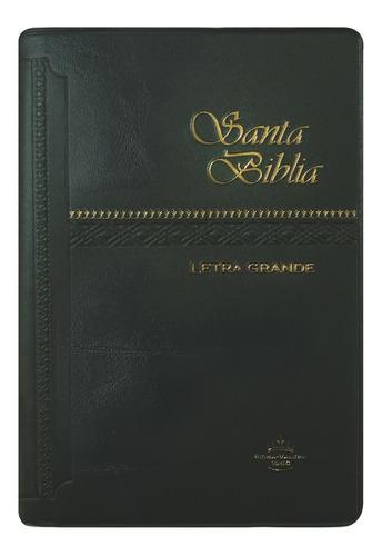 biblia mediana letra mayor negra reina valera 1960
