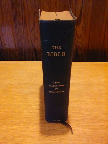 biblia muy antigua en ingles ,new york año 1934