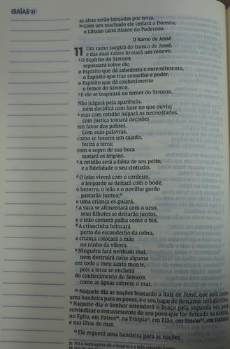 bíblia nvi letra grande com espaço para anotações tam grande
