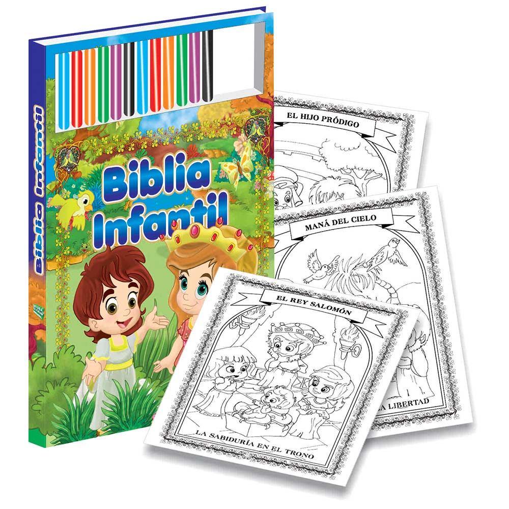 Biblia Para Colorear - $ 85.900 en Mercado Libre