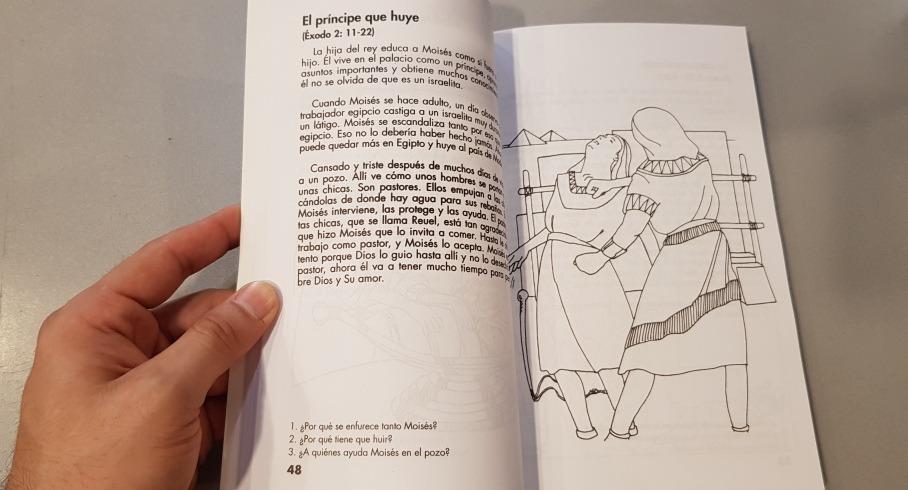 Biblia Para Niños Para Colorear 105 Historias Bíblicas
