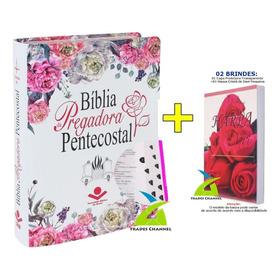 Bíblia Pregadora Pentecostal C/ Índice + Capa + Harpa