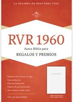 biblia regalos y premios imitacion blanca reina valera envío