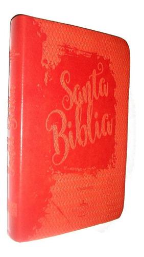 biblia reina valera 1960 21x14 letra grande, indice, colores