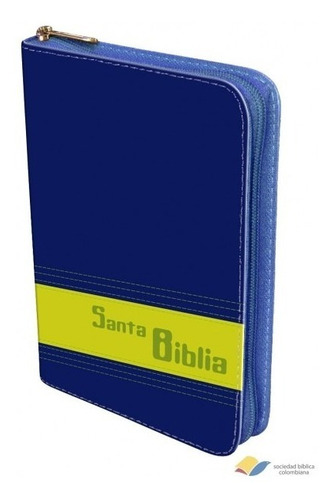 biblia reina valera 1960 azul y verde