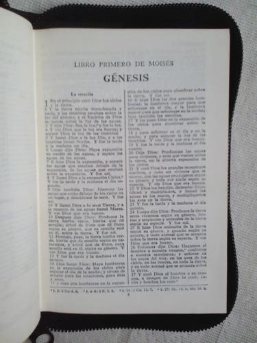 biblia reina valera 1960 (en tapa dura, forro y usada)
