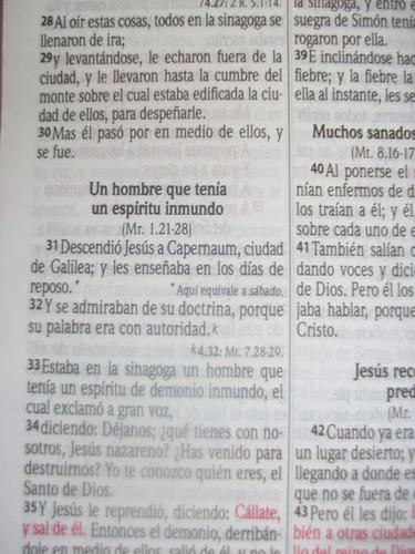 biblia reina valera 1960 imitacion piel letra grande colores