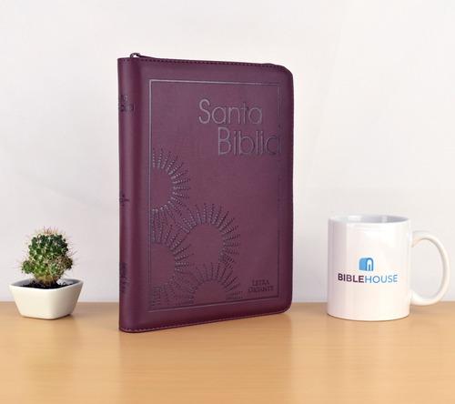biblia reina valera 1960 letra grande (gigante) - vinotinto