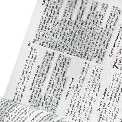 bíblia sagrada capa dura feminina linguagem de hoje