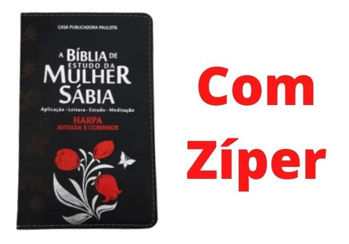 bíblia sagrada capa luxo de estudo mulher sabia
