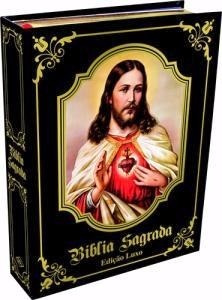bíblia sagrada católica - edição luxo 2018 - capa preta