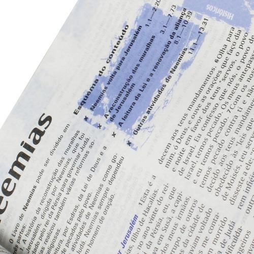 bíblia sagrada com notas para jovens e adolescentes sbb