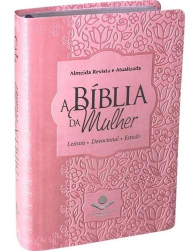 bíblia sagrada de estudo da mulher nova capa sbb