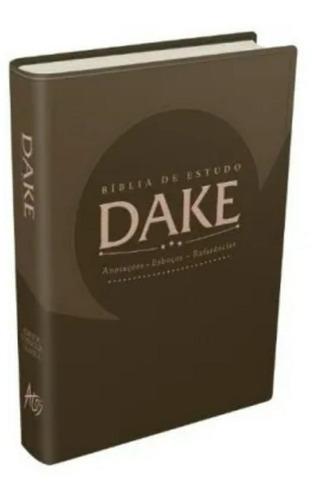 bíblia sagrada de estudo dake editora atos capa luxo