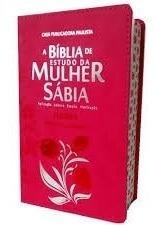 bíblia sagrada feminina evangélica com harpa  pink