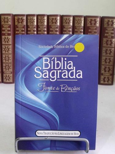 bíblia sagrada - fonte de benção