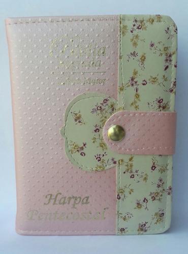bíblia sagrada harpa,índice,letra grande feminina/masculina