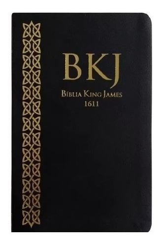 bíblia sagrada king james fiel 1611 fina slin preta oferta