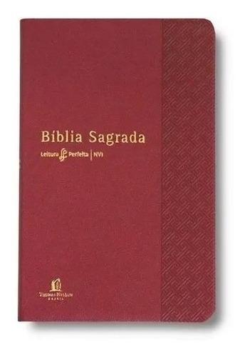 bíblia sagrada leitura perfeita nvi vermelha