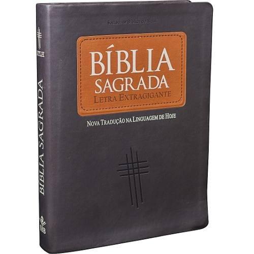 bíblia sagrada letra extra gigante linguagem de hoje ntlh