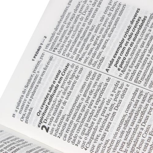 bíblia sagrada letra grande almeida revista e atualizada sbb