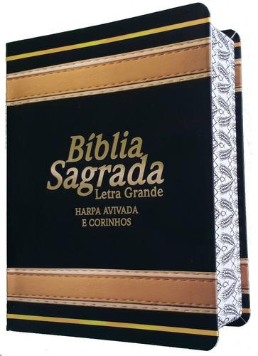 bíblia sagrada letra grande harpa feminina e masculina