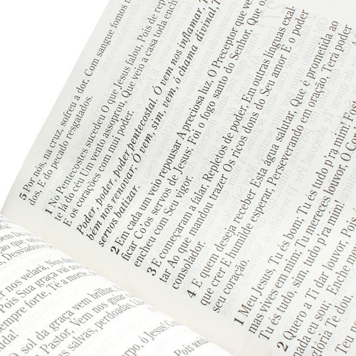 bíblia sagrada letra grande luxo almeida rc  harpa cpad