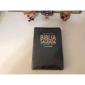 Bíblia Sagrada Letra Grande Revista E Corrigida