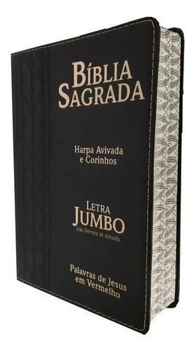 bíblia sagrada letra jumbo harpa avivada e corinhos completa