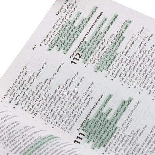 bíblia sagrada letra maior almeida revista atualizada preta