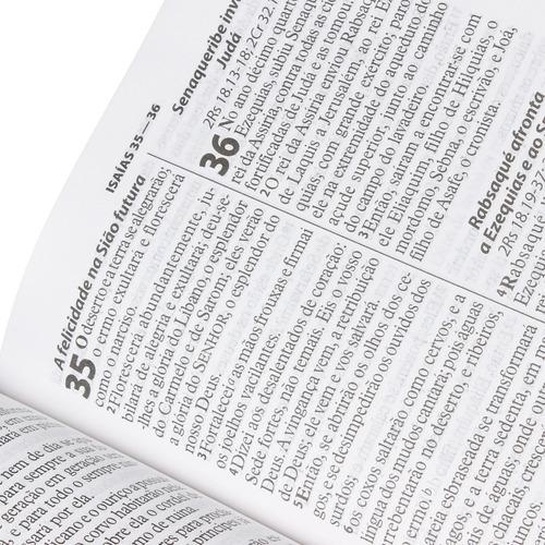 bíblia sagrada masculina  letra gigante com índice promoção