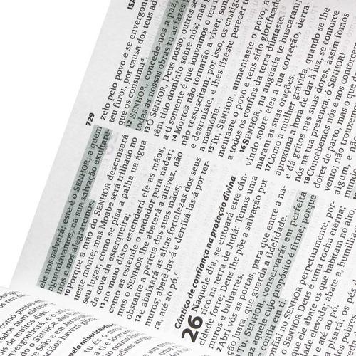 bíblia sagrada ntlh com letra maior  com sticky notes