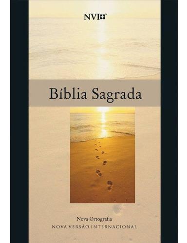 bíblia sagrada nvi evangelismo média brochura esse mês