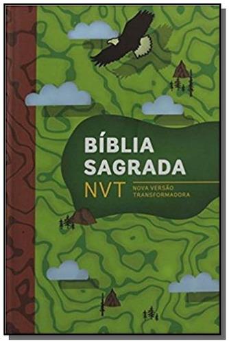 biblia sagrada nvt capa aventura