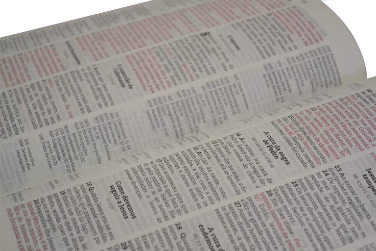 b00b547d18b Bíblia Thompson Aec Letra Grande - Verde E Vinho - R  200