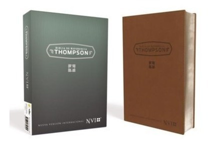 biblia thompson nvi con referencias  imitacion  piel