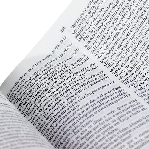 bíblia ultrafina slim revista e atualizada luxo rosa