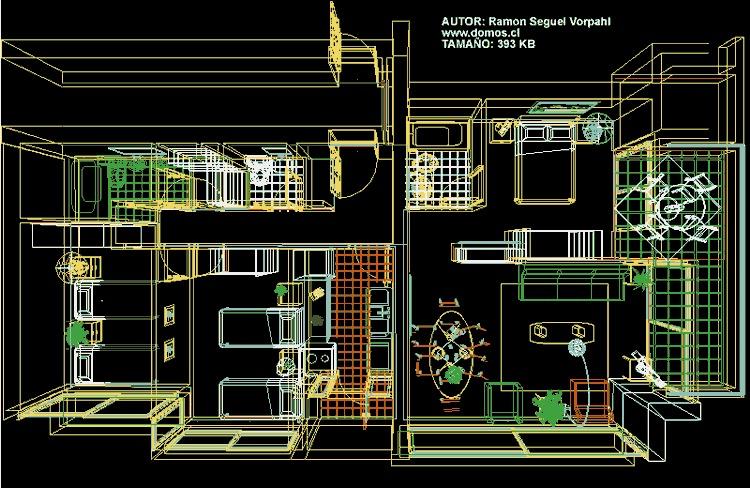 planos de casas bibliocad