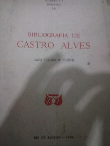 bibliografia de castro alves - 1960 - hans jurgen