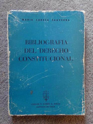 bibliografía del derecho constitucional mario correa s. 1967