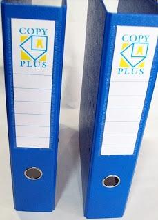 bibliorato oficio y a4 plastificados paquete x20