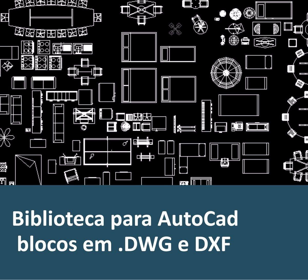 Biblioteca 130 000 Blocos 80000 Projetos Autocad
