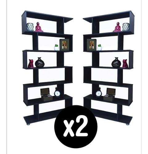 biblioteca 6 estantes escalera cubo 90 x 180 blanca wengue@#