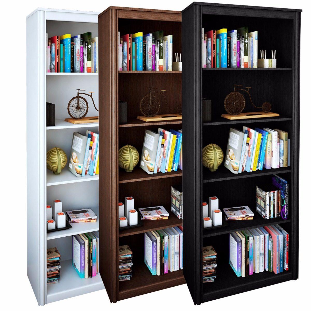 Biblioteca Alta 5 Estantes R 15111 Reproex Initio Muebles  # Muebles Fijos Especificaciones