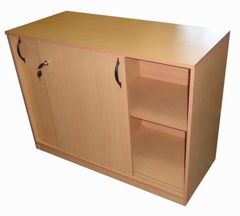 biblioteca baja 1.20 escritorio mueble oficina 007-alba -002