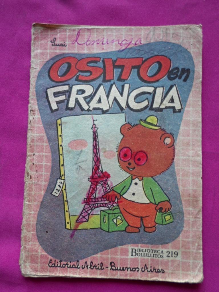 Biblioteca Bolsillitos N 219 Ed Abril Osito En Francia 50 00