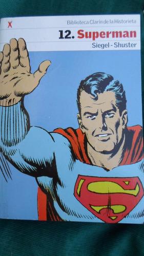 biblioteca clarin de la historieta - superman