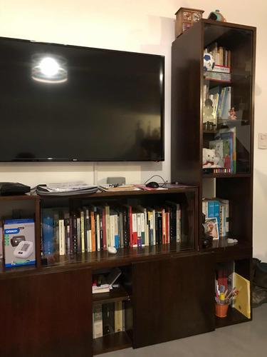 biblioteca, cómoda, mueble multiuso