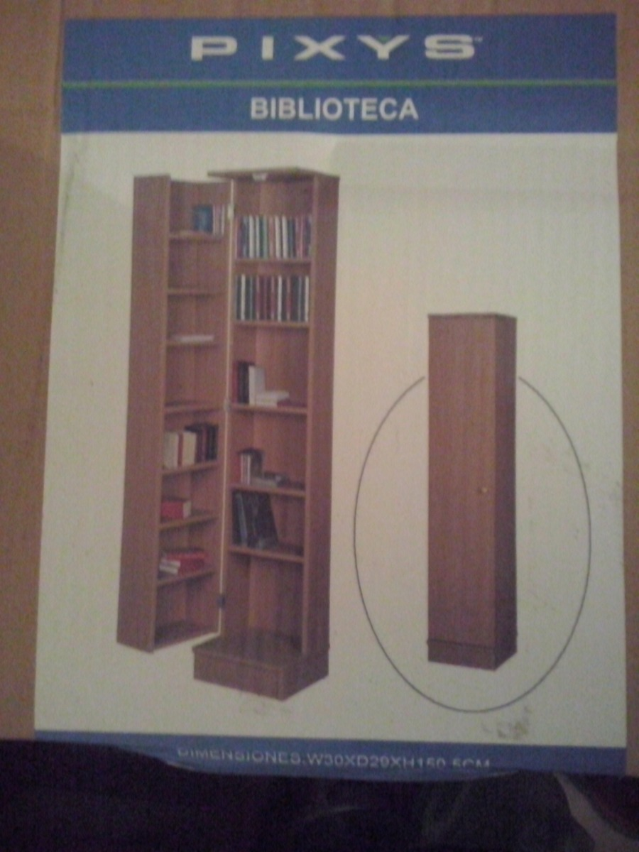 Biblioteca Con Puerta Y Luz Pixys Bs 7 500 000 00 En Mercado Libre # Muebles Tiendas Pixys